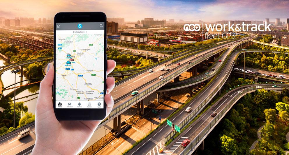 Work&Track fleet GPS ya tiene su APP móvil