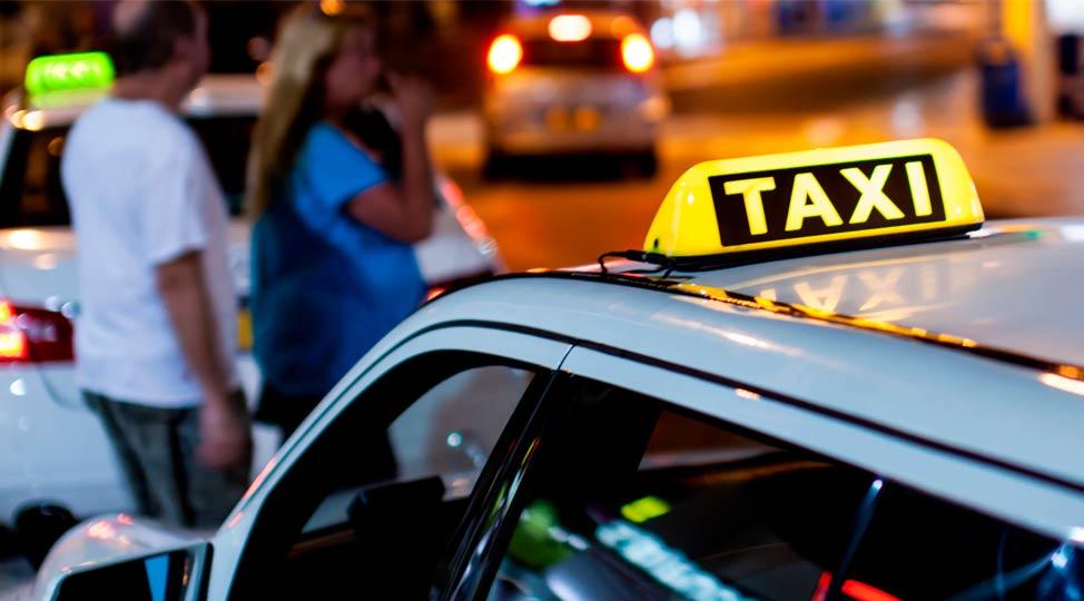 Nuevas matrículas azules para los taxistas