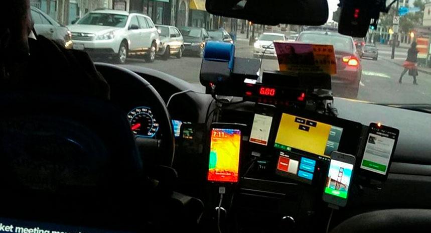 La tecnología en el transporte: del TAXI y VTC al vehículo autónomo