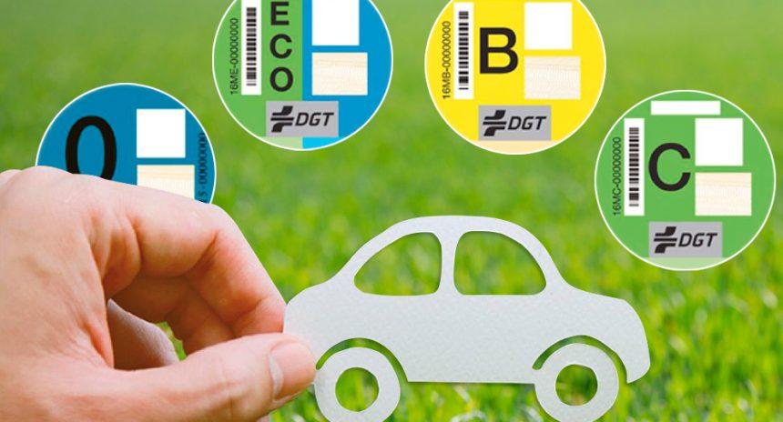 Distintivos ambientales: ¿Cómo conseguir la pegatina de la DGT?