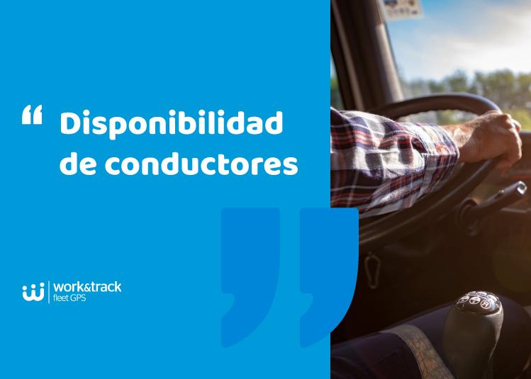 Disponibilidad de conductores: tiempos de conducción y descanso