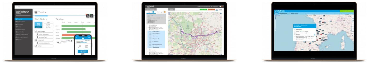 Plataforma para la gestión de flotas GPS y servicios logísticos