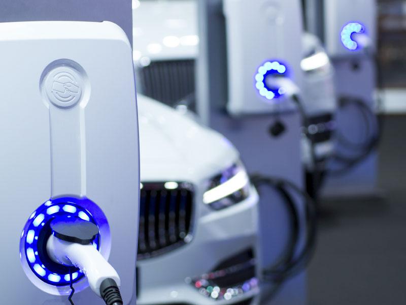 Sistema de gestión de flotas para vehículos eléctricos